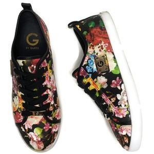 G by guess floral Mallory sneakers size 9.5